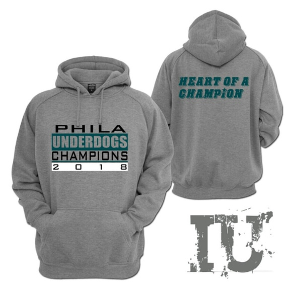 new style 5e4d7 d7d90 Philadelphia Eagles Underdog hoodie Boutique